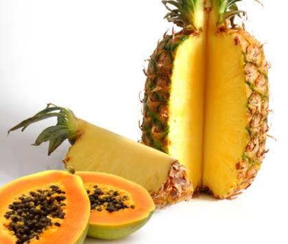 Ce este Ananas cu Papaya