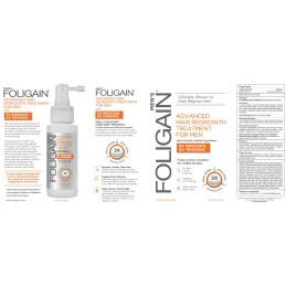 FOLIGAIN Tratament regenerare par barbati 5% Minoxidil & 5% Trioxidil® (2oz) 59ml