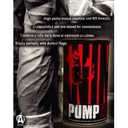 Animal Pump 30 pliculete, Universal Nutrition
