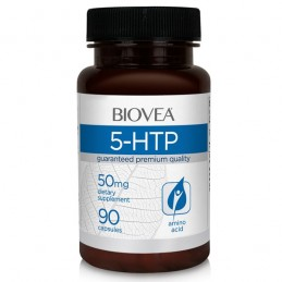 5-HTP 50 mg 90 capsule (Serotonina, tratament insomnie)