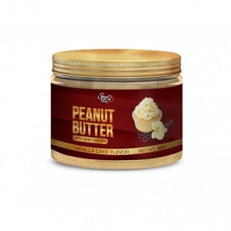 Pure Nutrition USA Unt de arahide, gust Vanilie, cu Proteina din zer, 450 grame