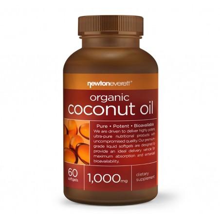 MCT, Ulei Cocos Organic, 1000mg 60 Capsule