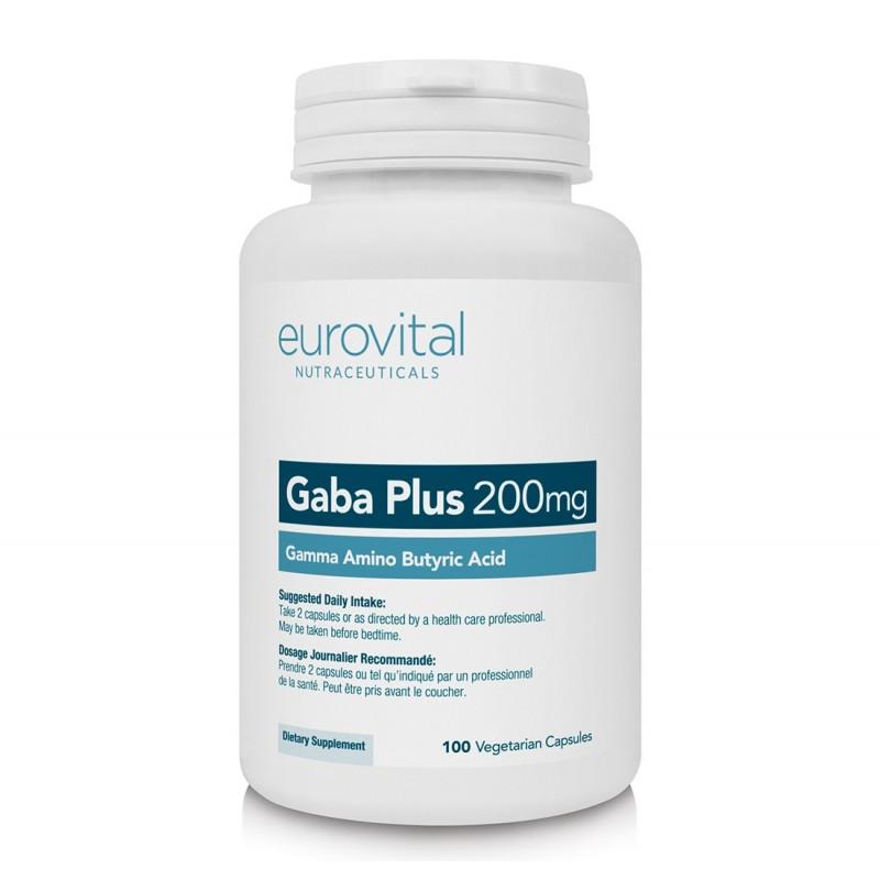 GABA Plus+Inositol (Acidul Gamma-Aminobutiri) 100 capsule