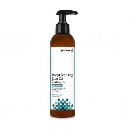 Șampon de curățare profundă cu ulei de Emu pur (Rozmarin Menta) (8 fl oz) 236ml