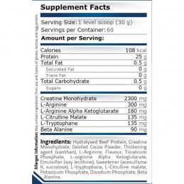 Beef Protein 908 grame, proteina din carne de vita hidrolizata