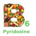 Vitamina B6, Piridoxina, 100mg 100 Capsule
