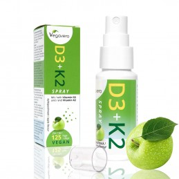 Vitamina D3 K2 (MK-7) Spray | Doar un spray pe zi, 4 luni