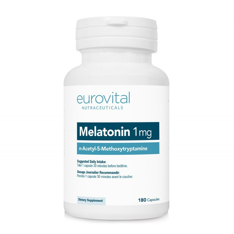 MELATONINA 1mg 180 Capsule