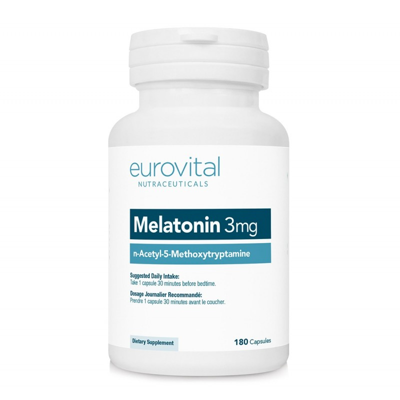 MELATONINA 3mg 180 Capsule