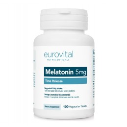 MELATONINA 5mg (Dizolvare lenta) 100 Tablete