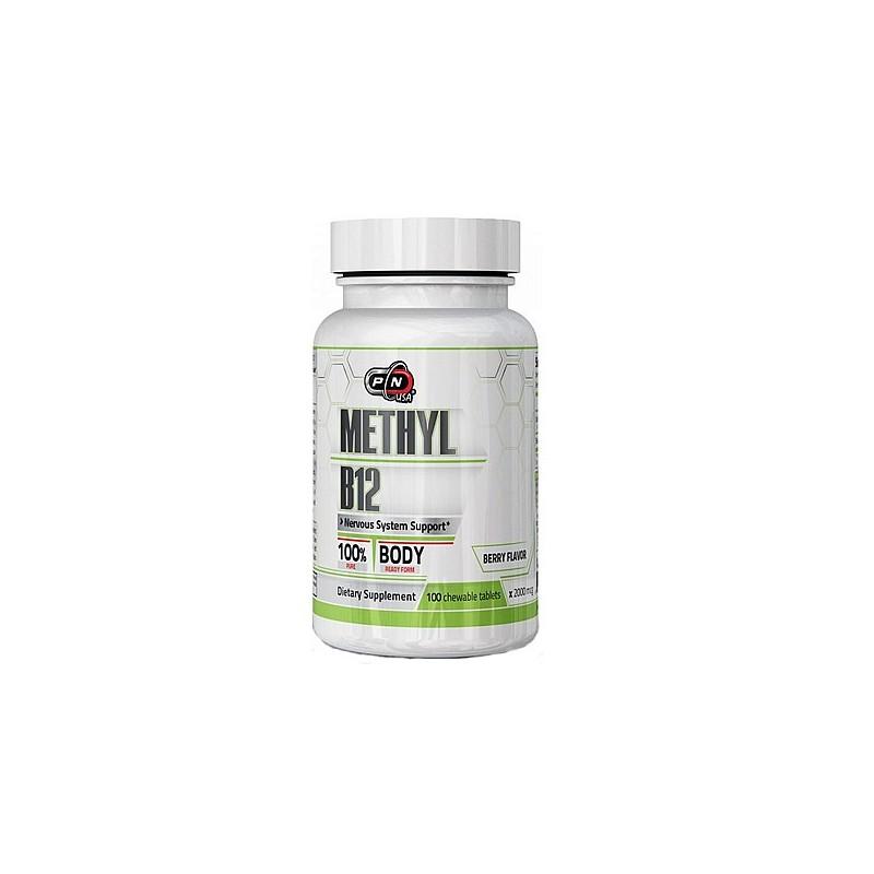 Vitamina B12 2000mcg 100 Tablete (Methylcobalamin)
