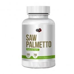 Pure Nutrition USA Saw Palmetto 700 mg 100 Capsule, tratament prostata naturist Beneficii Saw Palmetto: diminueaza hiperplazia b