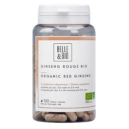 Belle&Bio Ginseng Rosu Bio 120 capsule