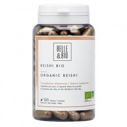 Belle&Bio Reishi Ganoderma Bio 120 Capsule Beneficii Reishi Ganoderma Bio: previne si reduce oboseala, are proprietati adaptoge