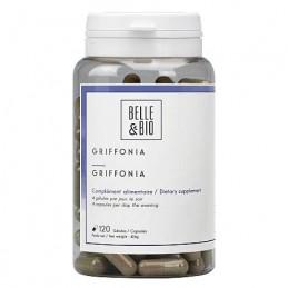 Belle&Bio 5-HTP, Griffonia Simplicifolia, 120 Capsule, Insomnie, depresie, serotonina Beneficii Griffonia Simplicifolia, 5-HTP:
