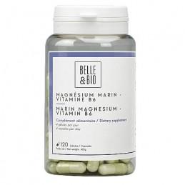 Magneziu marin si Vitamina B6, 120 capsule