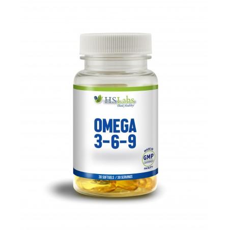 HS Labs OMEGA 3-6-9, 30 gelule moi