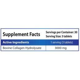 Colagen Hidrolizat, 1000 mg, 90 Tablete