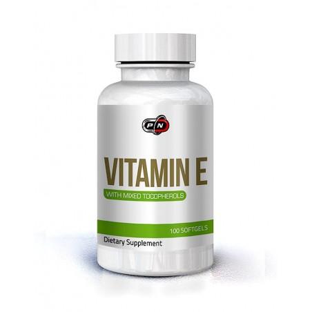 Pure Nutrition USA Vitamina E, 400 IU, 266 mg, 100 gelule