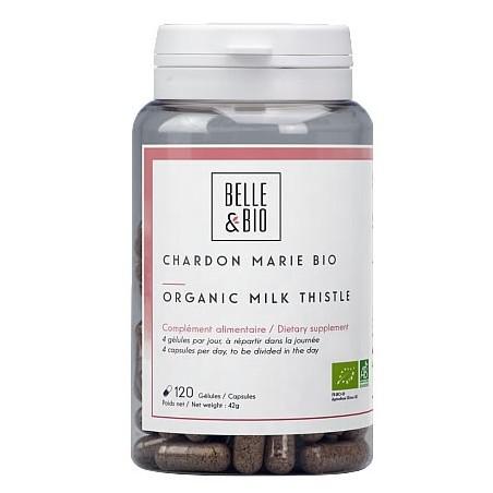 Belle&Bio Armurariul Bio (Silybum marianum-Chardon Marie Bio) 120 capsule