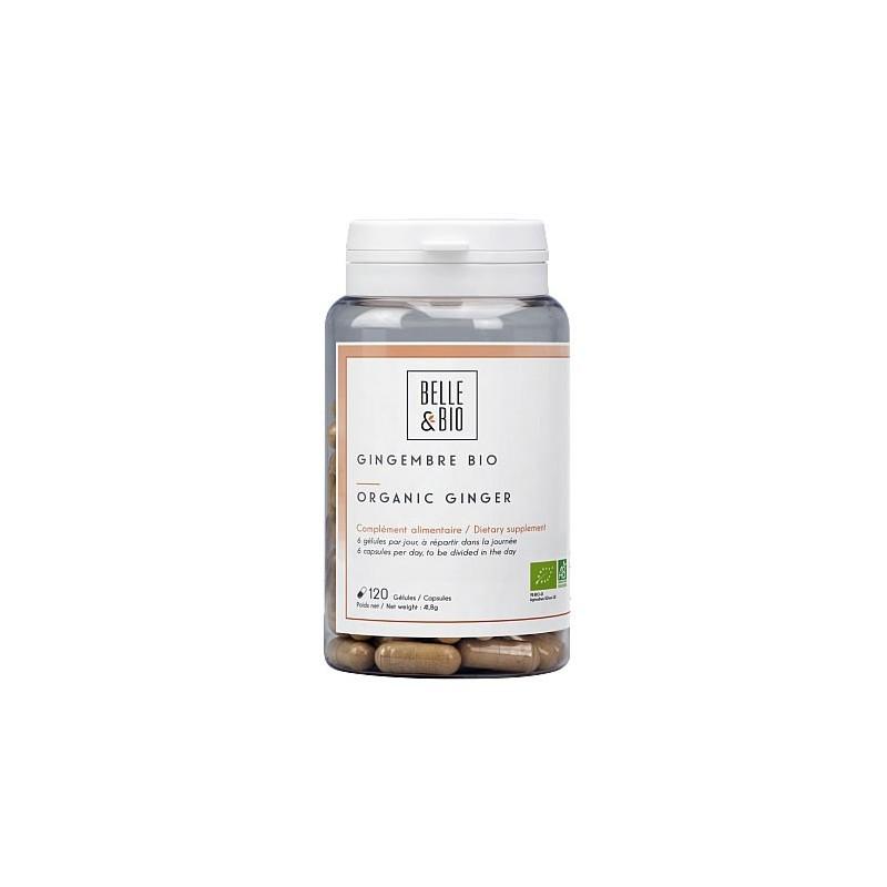 Ghimbir Bio 120 capsule, prospect, efecte, pret, administrare, beneficii, pareri