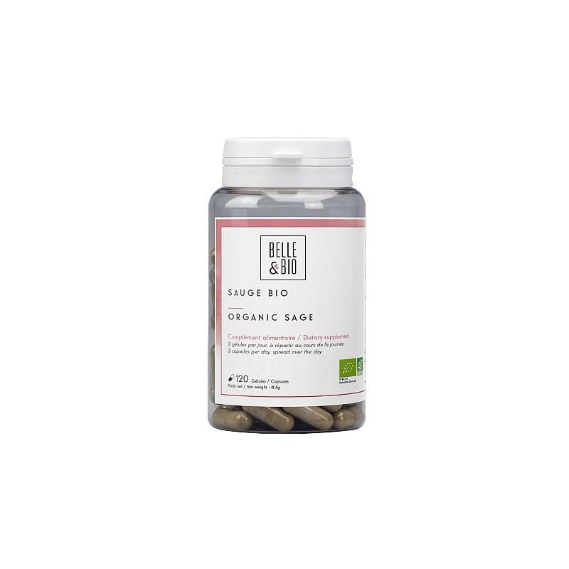 Salvie Bio 120 capsule. Prospect, indicatii, efecte, pret, pareri, beneficii