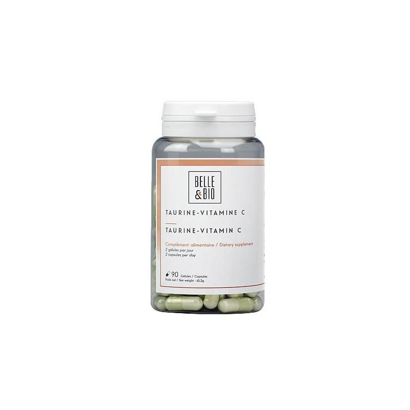 Taurina cu Vitamina C, 90 capsule, 500 mg