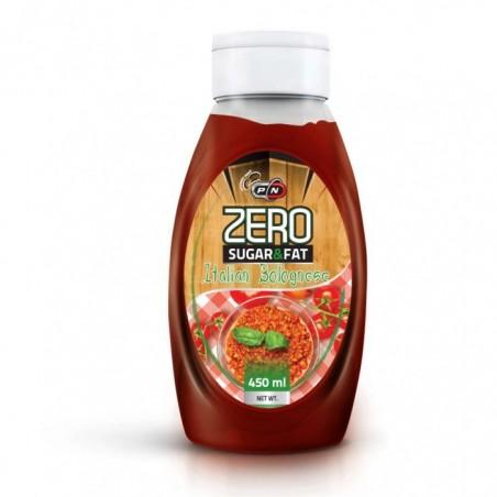 Pure Nutrition USA Sosuri Zero calorii, Italian Bolognese, 500 ml
