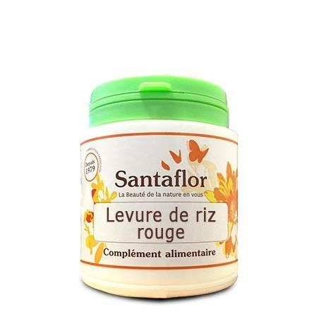 Santaflor Drojdie orez rosu, 240 capsule, Red rice yeast