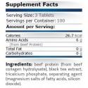 Beef Amino 300 tablete, Aminoacizi din carne de vita, Continutul natural de creatina