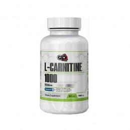 L-Carnitina 1000 mg, 60 capsule, arde grasimea, inhiba pofta de mancare