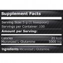 L-Glutamina pudra micronizata 500 grame, pulbere Glutamina micronizata USA