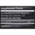 Beta Alanina 500 grame, pompare exploziva pentru antrenamente intense
