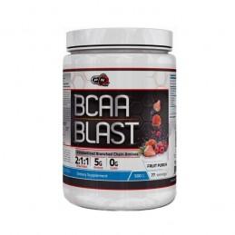 BCAA pudra 2:1:1 + Glutamina 500 grame, pulbere BCAA, aroma fructe