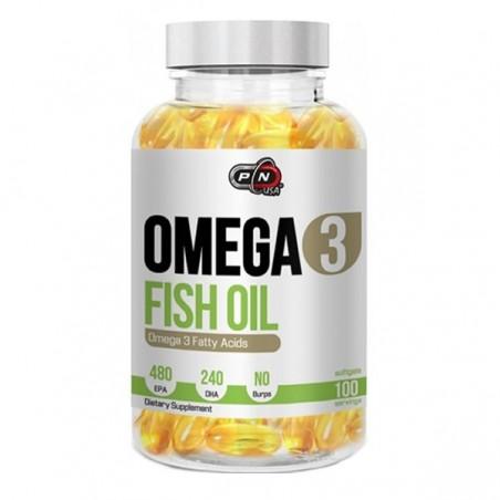 Pure Nutrition USA Omega 3, 1200mg, 100 capsule, Ulei de peste 480 EPA / 240 DHA