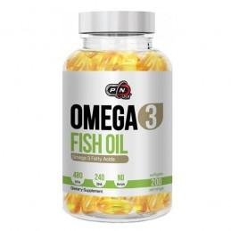 Ulei de peste 480 EPA / 240 DHA, Omega 3, 1200mg, 200 capsule, Tratament colesterol