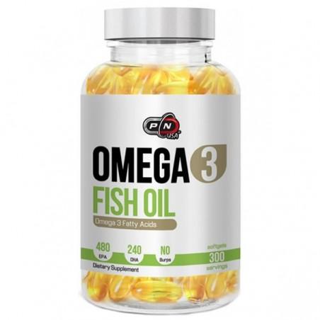 Pure Nutrition USA Omega 3, 1200mg, 300 capsule, Ulei de peste 480 EPA / 240 DHA