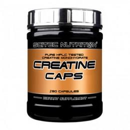 Creatine Caps 250 Capsule, SCITEC NUTRITION, Creatina monohidrata