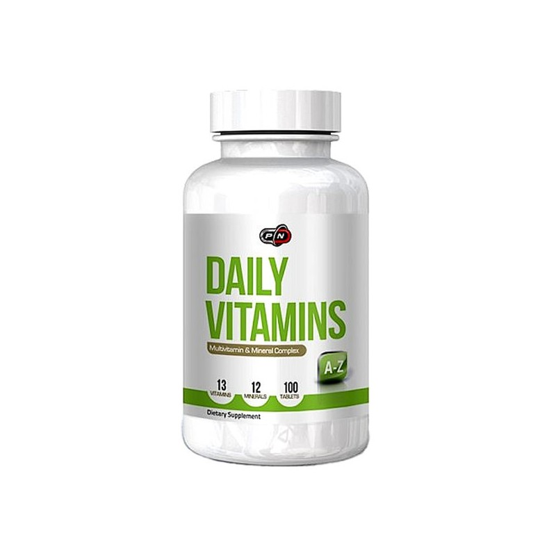 Daily Vitamins 100 tablete. MultiVitamine si minerale sportivi