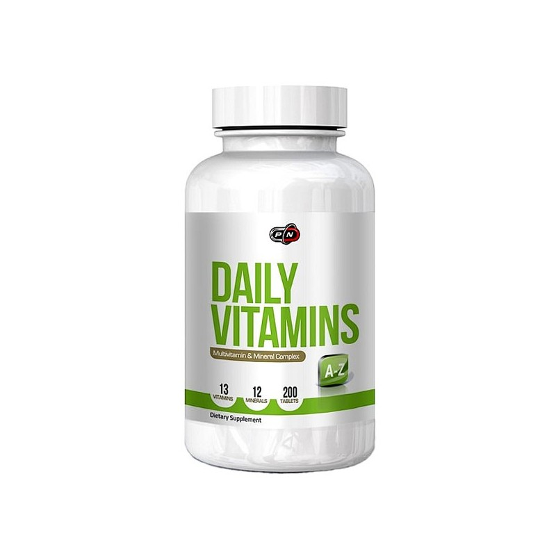 Daily Vitamins 200 tablete, Comlex de multivitamine si minerale pentru sportivi