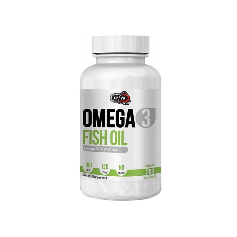 Omega 3, Ulei de peste, 1000mg, 200 Gelule, 180 EPA si 120 DHA, tratament articulatii si colesterol