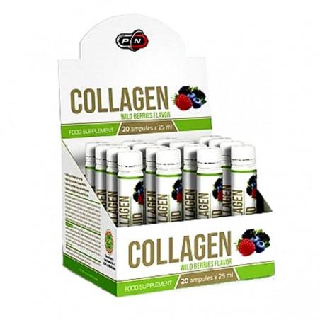 Pure Nutrition USA Colagen lichid hidrolizat, 10.000 mg, 20 fiole