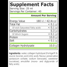 Colagen lichid hidrolizat 1000 ml, 10.000 mg, Fortigel