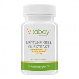 Neptun Krill Oil 500 mg - 60 gelule, presat la rece, Omega 369