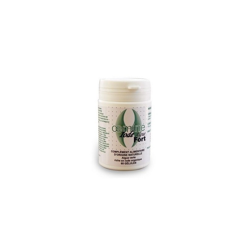 Oemine Iode Forte din alge - 30 grame