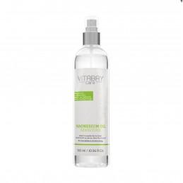Original ulei de magneziu Zechstein sensibil 300 ml - spray de clorură de magneziu cu 99,9% Aloe Vera Organică