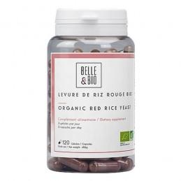 Drojdie de orez rosu Bio, Red yeast rice BIO, 120 capsule