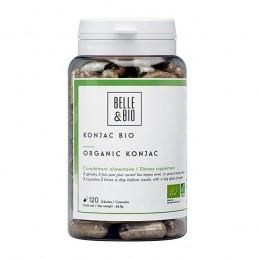Konjac Bio (Glucomannan Bio) 120 capsule, efecte, pret, prospect, pareri,reduce si taie pofta de mancare