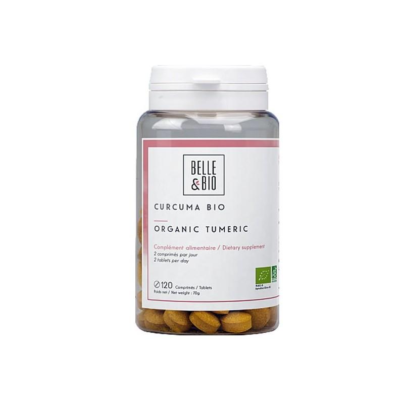 Curcuma Bio 120 Comprimate, prospect, indicatii, beneficii, pret, pareri