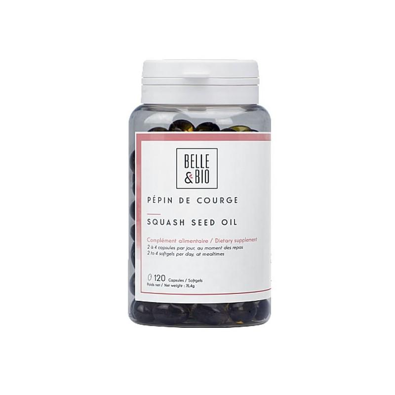 Ulei seminte dovleac, 120 capsule, beneficii, pret, efecte, prospect, indicatii